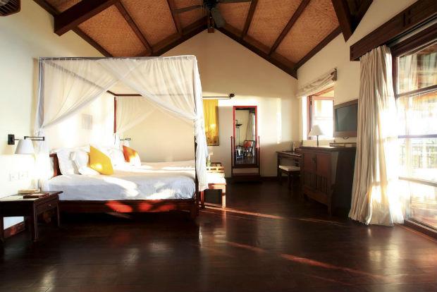 Phòng ngủ tại khách sạn Evason Ana Mandara Nha Trang