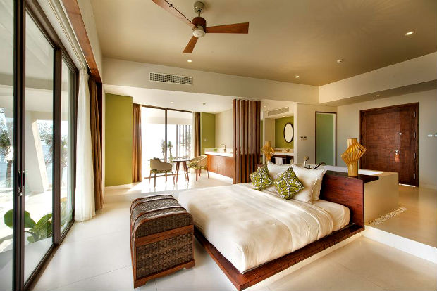 Phòng nghỉ tại The Shells Resort & Spa Phú Quốc
