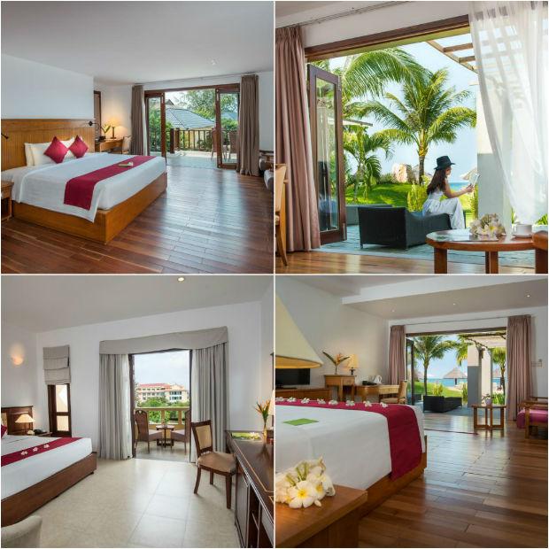 Phòng nghỉ tại Khu nghỉ dưỡng Eden Resort Phú Quốc