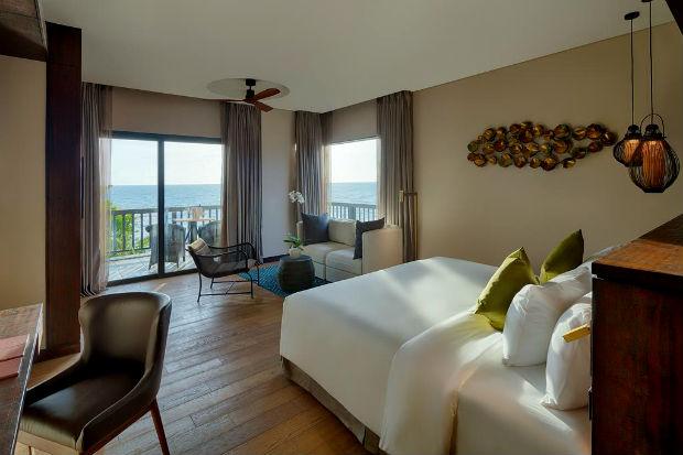 Phòng ngủ view biển tại khu Nghỉ Dưỡng Nam Nghi Phú Quốc