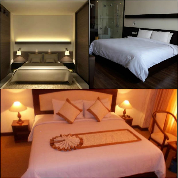 Phòng ngủ Khách sạn Đông Dương Kon Tum - Indochine Kontum