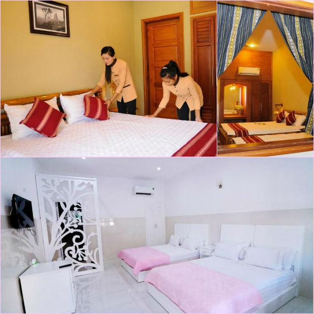 Phòng tiện nghi đầy đủ tại Khách sạn Konklor - Kon Tum