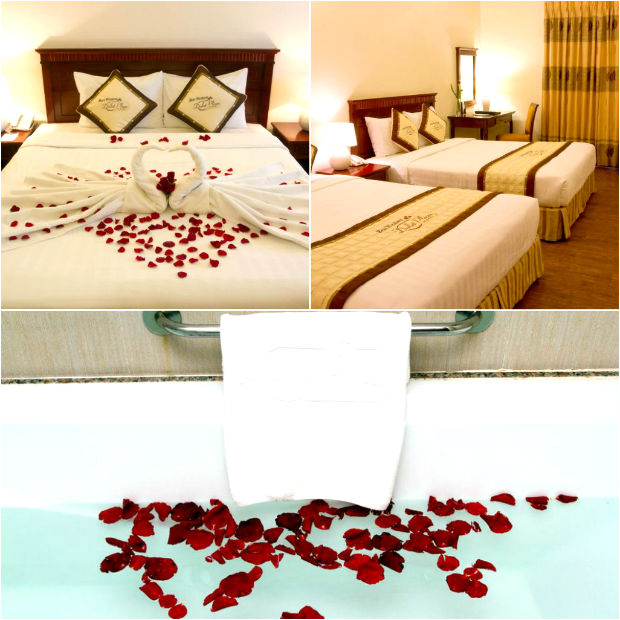 Phòng ngủ tại Khách sạn Best Western Plaza Đà Lạt