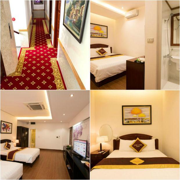 Nội thất của Khách sạn Song Long Lạng Sơn