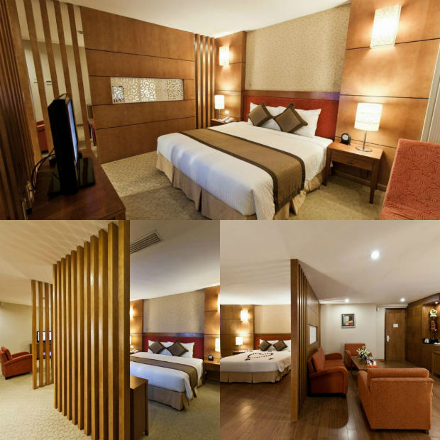 Phòng ngủ Mường Thanh Grand Lạng Sơn