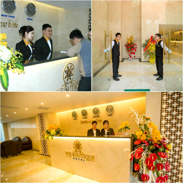 Sảnh Khách sạn Vi's Boutique Lạng Sơn