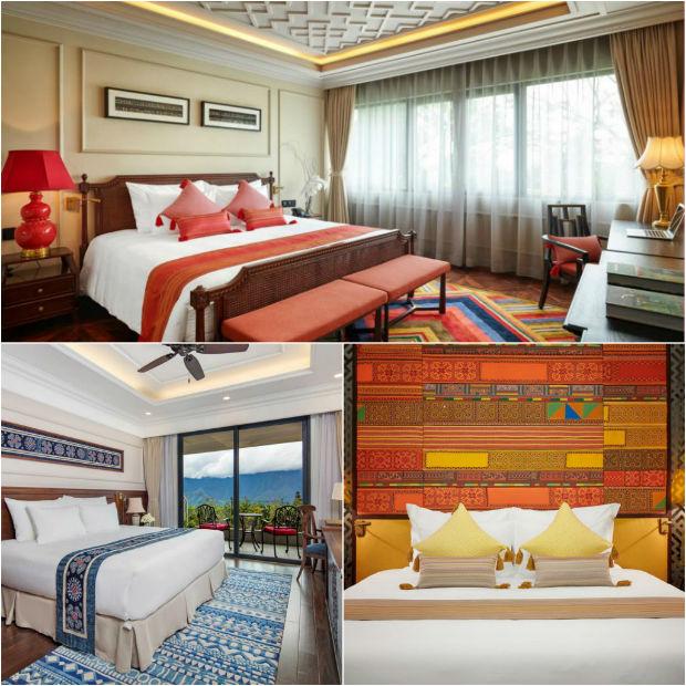 Phòng ngủ tại Khách sạn Silk Path Grand Resort & Spa Sapa