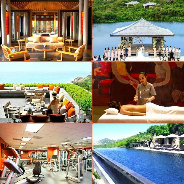 Amanoi Resort Ninh Thuận phong cách hiện đại