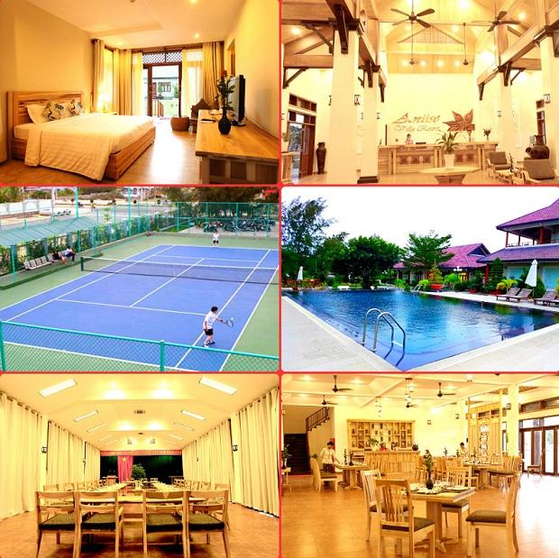 Dịch vụ và tiện ích tại Aniise villa resort Ninh Thuận