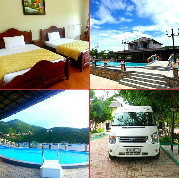 Các dịch vụ nổi bật tại Vĩnh Hy resort Ninh Thuận