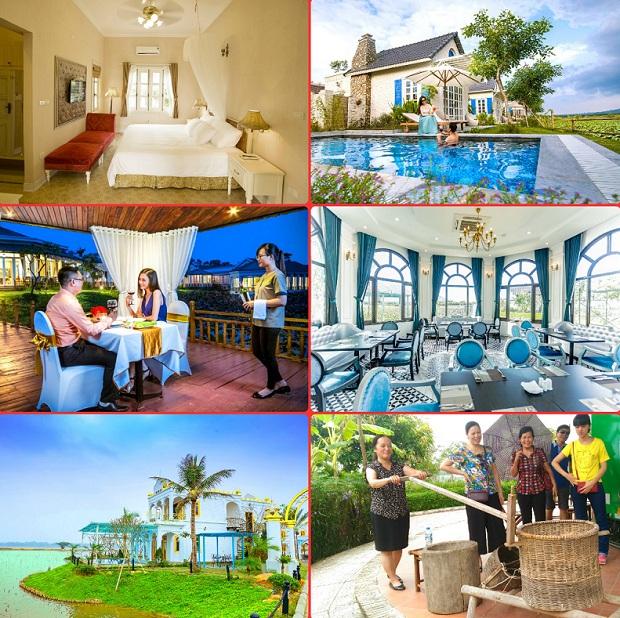 Nghĩ dưỡng kết hợp các giá trị truyền thống tại Vườn Vua Resort & Villas Phú Thọ