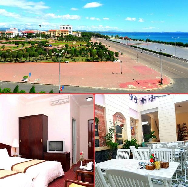 Phòng ngủ tại Khách sạn Công Đoàn Phú Yên