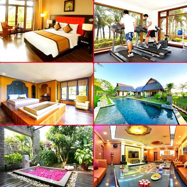 Các dịch vụ tại Sun Spa Resort & Villa