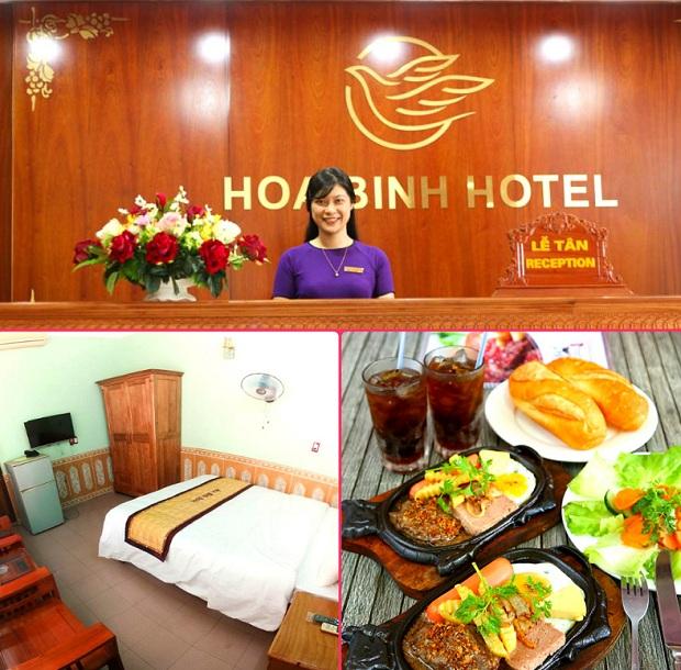 Khách sạn Hòa Bình Quảng Bình bình dân