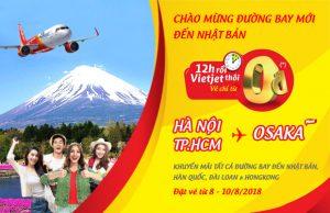 Khuyến mãi cực khủng của Vietjet Air – 200.000 vé 0 đồng cho chặng bay quốc tế