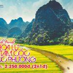 Du lịch Ninh Bình: Tour du lịch Hoa Lư – Tam Cốc – Cúc Phương 2 ngày 1 đêm