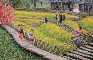 Tour Tết Hà Nội Sapa | Fansipan – Bản Cát Cát – Đền Mẫu Thượng Sapa 3 ngày 2 đêm