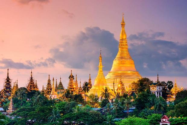 Chùa vàng Shwedagon