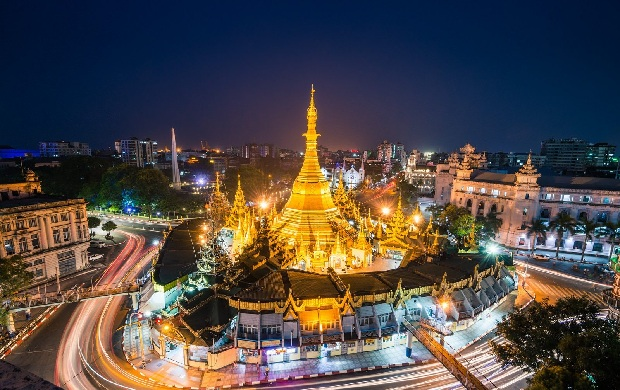 Thủ đô Yangon Myanmar