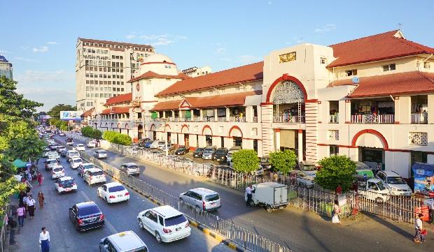 chợBogyoke Aung San