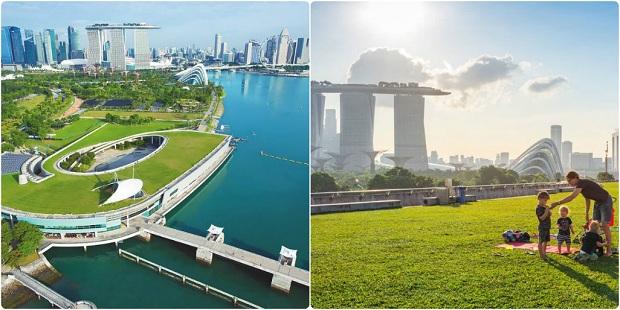 Du lịch Singapore 3 ngày 2 đêm - Đập nước Marina