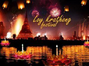 Du lịch Thái Lan 5N4Đ mùa lễ hội Loy Krathong: Bangkok – Pattaya – Chợ nổi