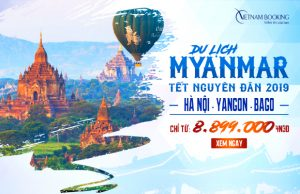 Du lịch Myanmar Tết Nguyên Đán 2019: Hà Nội – Yangon – Bago 4N3Đ