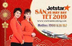 Giá vé máy bay Tết 2019 của hãng hàng không Jetstar Pacific
