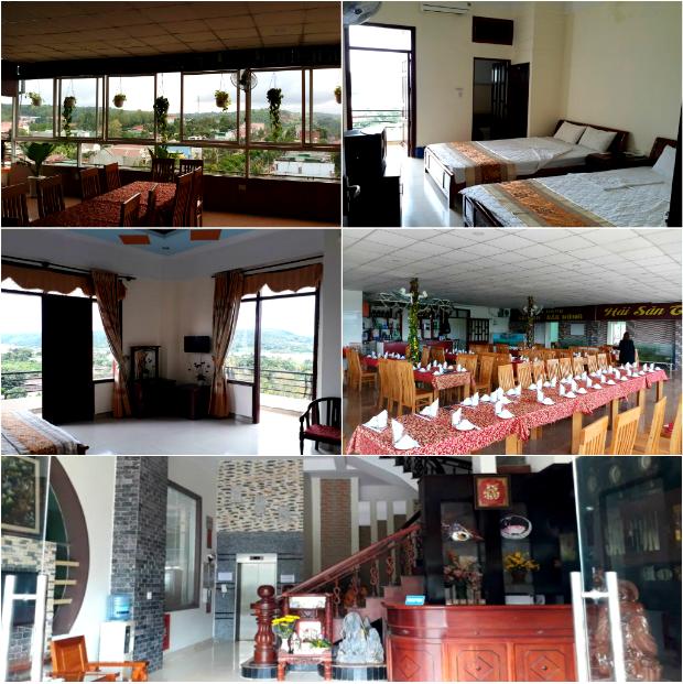 Khách sạn Sài Gòn - Đắk Nông có nội thất và khung cảnh khá ổn