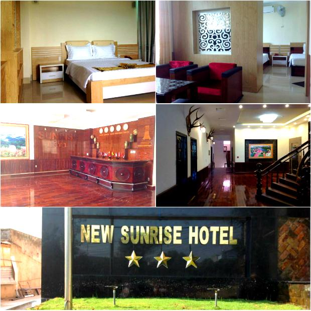 Tiện nghi của Khách sạn New Sunrise Đắk Nông khá đầy đủ