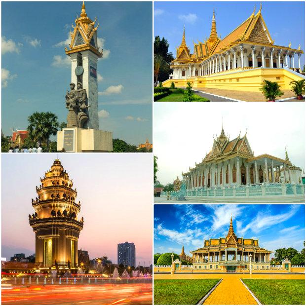 những điểm du lịch không thể bỏ qua ở Phnom Penh - tour du lịch Campuchia từ Hà Nội