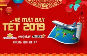 Vé máy bay Tết 2019