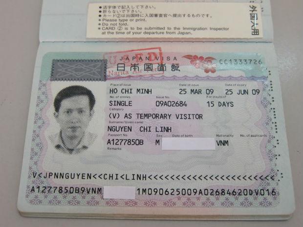Kết quả hình ảnh cho visa công tác nhật bản