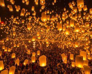 Những điều ít ai biết về Lễ hội đặc sắc nhất Thái Lan Loy Krathong và Yi Peng