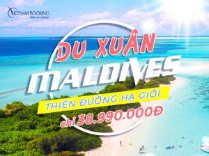 Tour du lịch đi Maldives 6 ngày 5 đêm giá tốt – Tận hưởng kì nghỉ khó quên ở chốn thiên đường