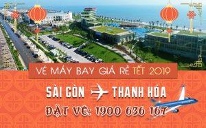 Giá vé máy bay Tết 2019 Sài Gòn – Thanh Hóa mới nhất