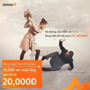 Vé rẻ bất ngờ – Chỉ từ 20,000 đồng có ngay cơ hội vi vu cùng Jetstar Pacific