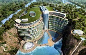 Mục sở thị khách sạn 5 sao dưới lòng đất lần đầu xuất hiện trên Thế Giới