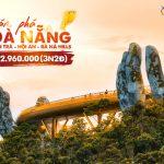 Du lịch Đà Nẵng 3N2Đ | Khám phá Sơn Trà | Bà Nà Hills | Hội An