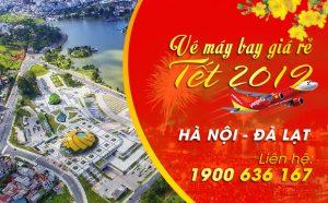 Giá vé máy bay Tết 2019 Hà Nội – Đà Lạt mới nhất