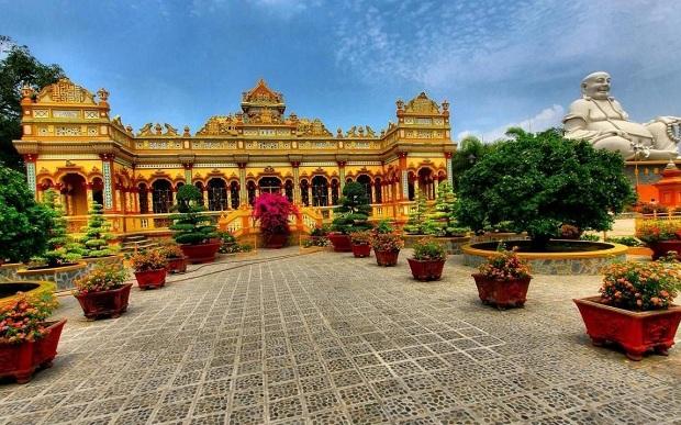 Vẻ đẹp độc đáo của chùa Vĩnh Tràng