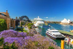 Khám phá nước Úc quyến rũ mùa phượng tím