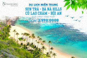 Khám phá thiên đường miền Trung với tour du lịch Đà Nẵng – Cù Lao Chàm – Hội An 3 ngày 2 đêm