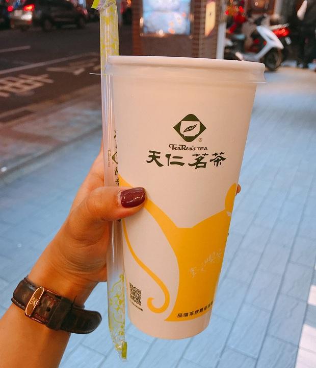 Tenren Oolong Milk Tea ở Ximending