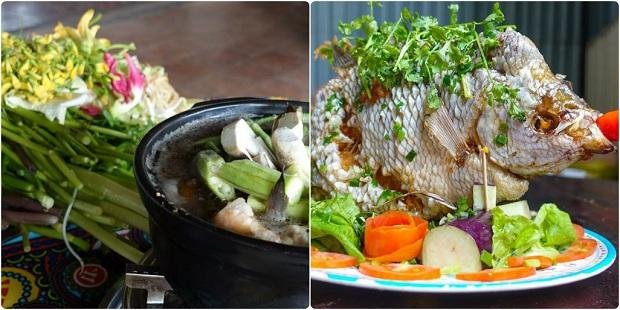 Lẩu mắm, cá tai tượng chiên giòn là những món ăn miền Tây trứ danh