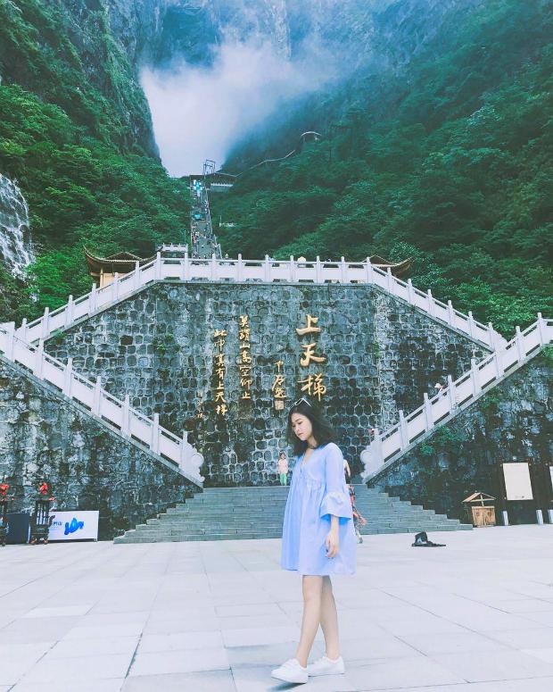 Cổng trời ở Thiên Môn Sơn