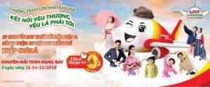 """""""Kết nối yêu thương – Yêu là phải tới"""" – Hàng triệu vé giá 0 đồng từ Vietjet Air"""
