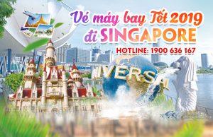Giá vé máy bay Tết 2019 đi Singapore mới nhất
