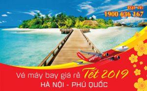 Giá vé máy bay Tết 2019 Hà Nội – Phú Quốc mới nhất