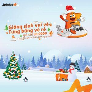 Giáng Sinh vui vẻ với Jetstar – Săn ngay vé khuyến mãi chỉ từ 50,000 đồng